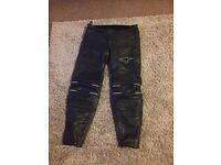 Alpinestars Male Leather Trousers