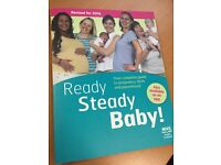 NHS Ready Steady Baby book