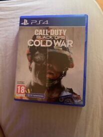 CALL OF DUTY COLD WAR PS4 £20