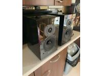 Quad 11l Hifi speakers gloss black high quality speakers for sale  Cwmbran, Torfaen