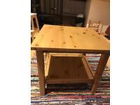 Coffee table oak IKEA