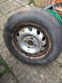 Spare wheel for Corsa B