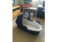 Quinny Navy Blue Carrycot