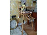 French vintage highchair
