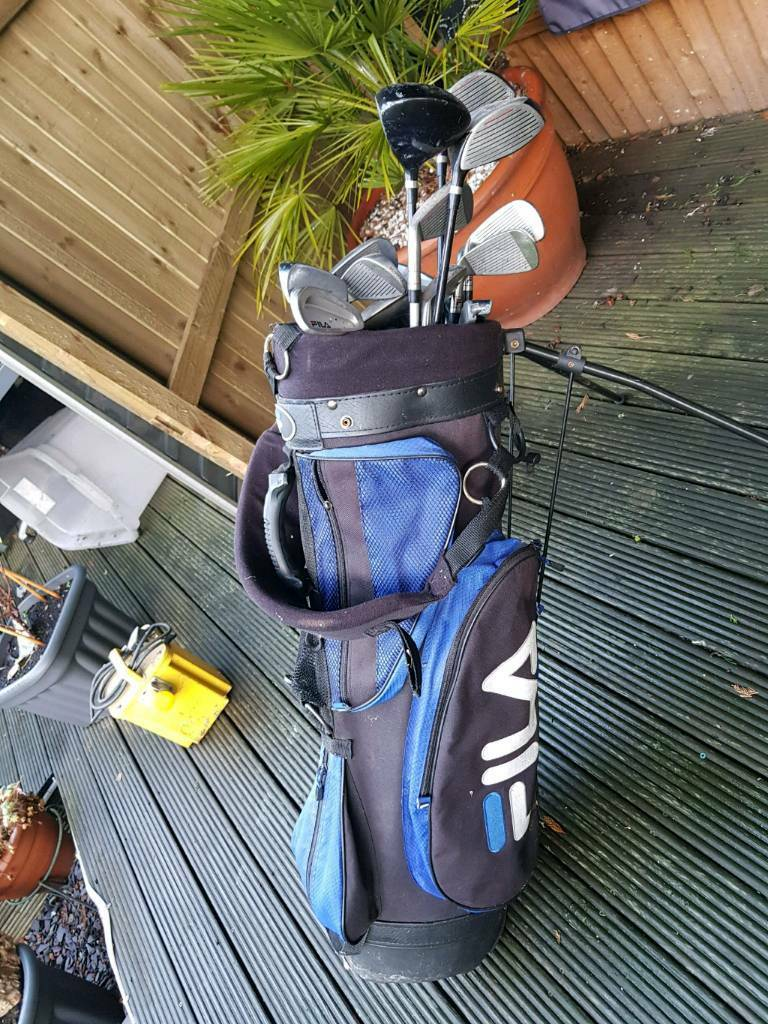 911cac3d3c6f Full set of Fila golf clubs for sale