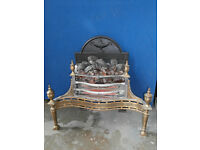 Fire Place Brass Vintage (Delivery)
