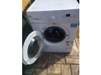 Beko 8kg load washing machine. 18 month old in excellent condition. Can drop off free if local