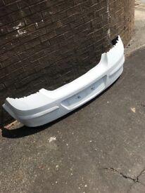 4-11 Vauxhall Astra H MK5 5DR HB REAR BUMPER Z40R WHITE REF FH108 #17777 £40