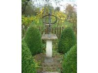 Decorative garden armillary
