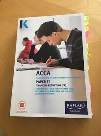 ACCA PAPER F7 - Last and current year books