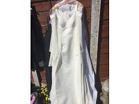 UK Size 8 Ellis beaded wedding dress