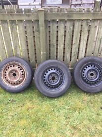 3xTyres and wheel Ford connect