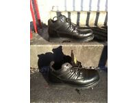 Caterpillar Boots Black Size 9 £30 or best offer
