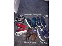 Job lot trainers/shoes Nike,vans ted baker ect