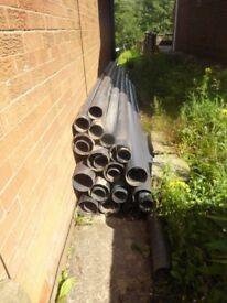 Black Plastic Underground Duct Pipes