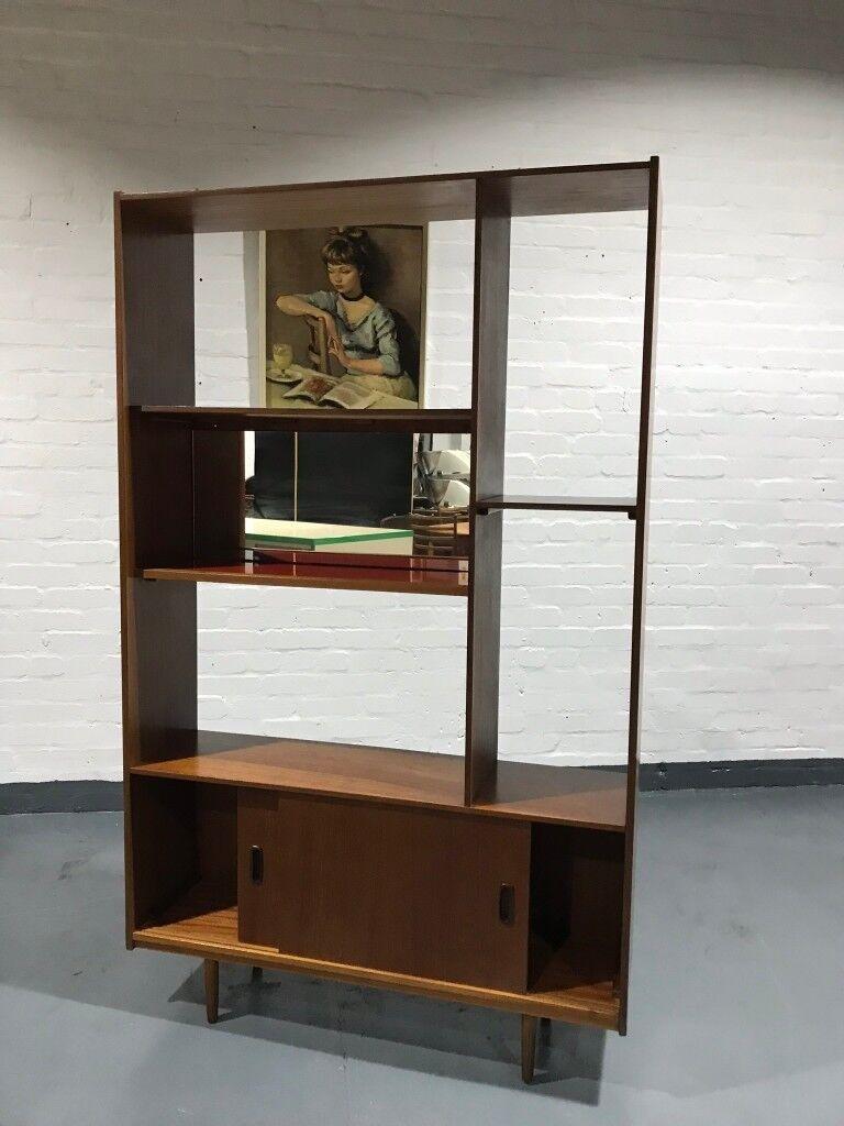 Pleasant Vintage 1970S Schreiber Wall Unit Bookcase Room Divider Interior Design Ideas Tzicisoteloinfo