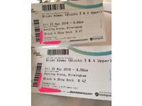 Bryan Adams tickets, Genting Arena 25.05.18