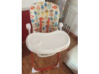 Baby hight chair £20