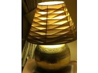 Large Table lamp Brass