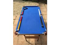 """Hy-Pro 2-in-1 Snooker & Pool Table (4ft 6"""")"""