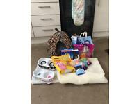 Kitten/Cat Toys, Food, beds + more