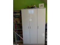 Children Bookcase - White High Gloss, Furniture RRP 60,00