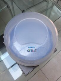 Philips Avent Natural Microwave Baby Bottle Steriliser - Mint Condition