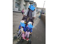 double mamas and papas stroller