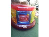 Small blow up bouncy castle