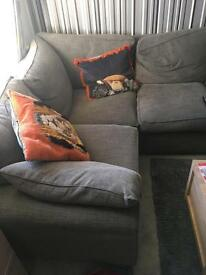 Corner 4 seater sofa -