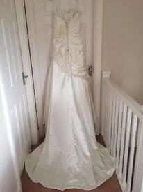 Madeline Gardner Wedding Dress Size 14