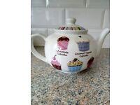 New Cupcake Teapot