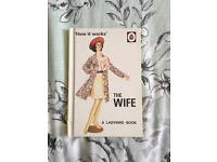BRAND NEW LADYBIRD BOOK 'THE WIFE'