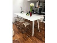 Bobo design bar stools and CoWorking table, mint condition BARGAIN PRICE