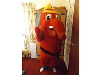 Ofiicial & Original Welephant Mascot / Character Costume For Sale.