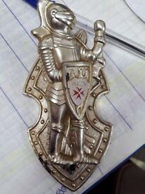 Malta soldier guard desk wall clip