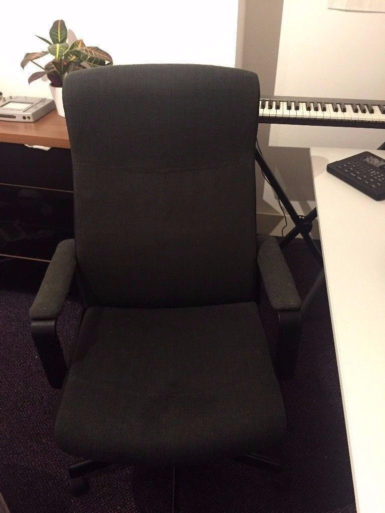 IKEA Office Swivel Chair in Dark Grey