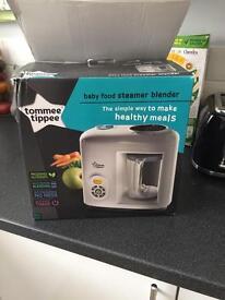 Baby food steamer blender