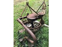 DAVID BROWN POTATO HARVESTER / SPINNER - WORKING ORDER - VINTAGE
