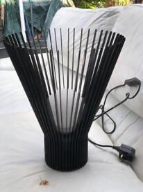 Black Willow Side Lamp Light
