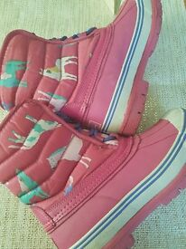 New Joules boots