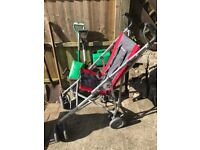 MacLaren major elite special needs pushchair