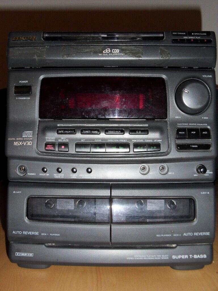Aiwa Nsx V30 Mini Hifi System In Morden London Gumtree