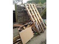 Big pile of scrap wood - please take away 07579003555