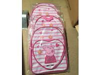 Selection brand new kids rucksacks, bags ideal for resale