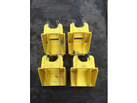 4 Boss Youngman toeboard clips holders for scaffold tower - £4 EACH