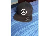 Lewis Hamilton Mercedes Petronas Baseball Cap.