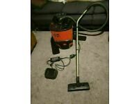 Numatic Red RucSac Backpack Vacuum Cleaner RSB.140 excellent conditon fully working