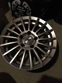 Set of 4 alloys 5stud