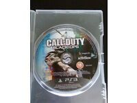 Call of duty game ps3